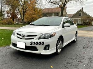 🍁URGENT,For sale 2012 Toyota Corolla S Price$1000!!! for Sale in Pasadena, CA