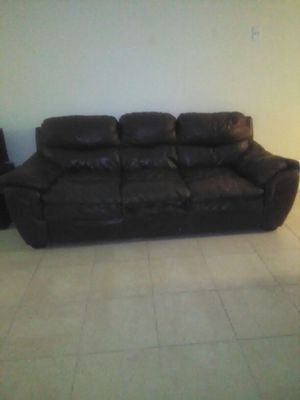 Brown sofa for Sale in Lake Park, FL