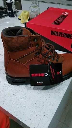 Wolverine work boots size 12 medium for Sale in Boca Raton, FL
