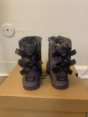 100% Authentic Brand New in Box UGG Bailey Bow Ruffles Boots / Toddler size 8 and toddler size 11 for Sale in Walnut Creek, CA