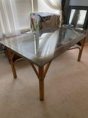 Ratan table for Sale in Cumming, GA