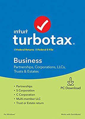 TurboTax Business 2019 ~ Original CD ~ 4 activations remaining