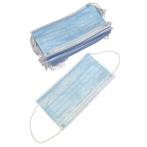 20 Each - Disposable Face Masks, Ear Loop Style, 3-ply for Sale in Seattle, WA