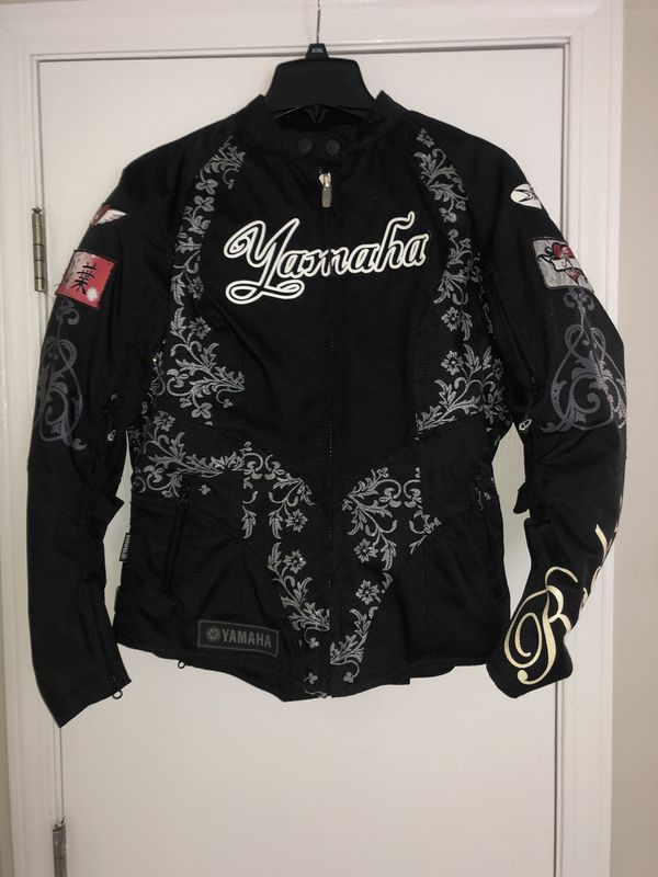 Women's Yamaha motorcycle jacket by Joe Rocket