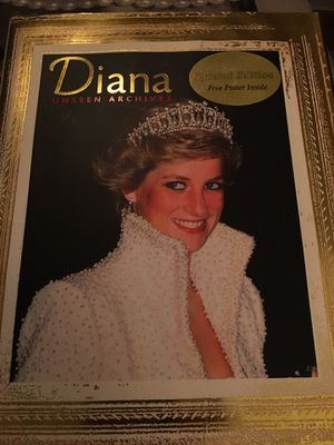 Diana unseen archives book..from early years to her death for Sale in Saint Paul, MN