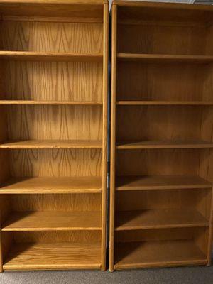 Wood Bookshelves for Sale in Corona, CA