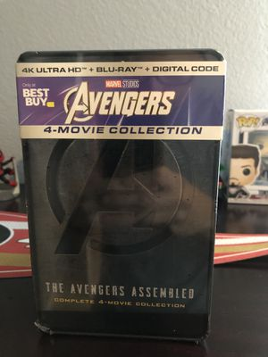Avengers 4-Movie Steelbook Collection for Sale in San Jose, CA