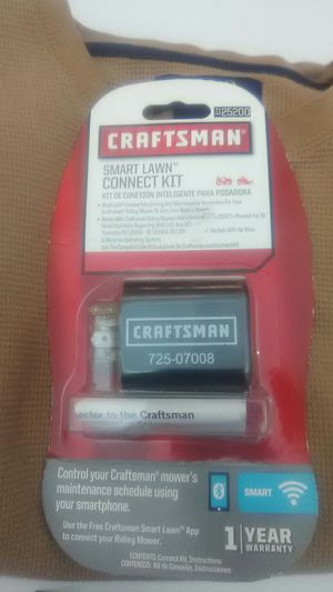 Craftsman Bluetooth smart lawn connect for Sale in Winston-Salem, NC