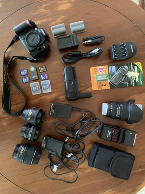 Nikon D90 and supplies for Sale in MONTGOMRY VLG, MD