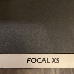 Focal XS Speakers w/o Remote for Sale in Frisco, TX