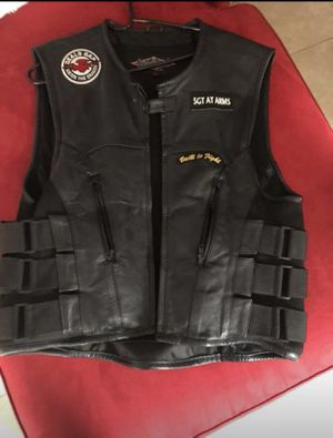 Motorcycle Vest $75 for Sale in Riverview, FL