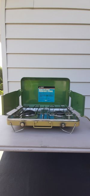 2 Burner Camp Stove for Sale in Puyallup, WA