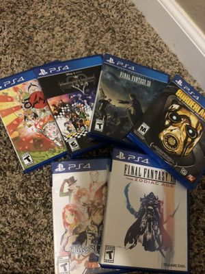 PS4 games for Sale in Oceanside, CA