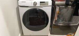 Washer is a Samsung about 5 months old and dryer is Ge about 6 years old. Very good condition. $300 each for Sale in Chatsworth, CA