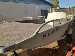 Solid fishing boat $1250 Lake ready!!! for Sale in Glendale, AZ