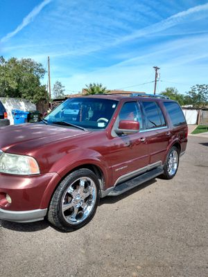 Lincoln navigator 2003 clean title for Sale in Phoenix, AZ