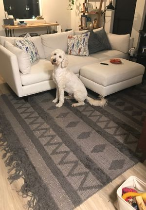 Large Grey Area Rug for Sale in Portland, OR