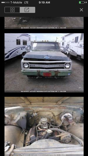 1969 Chevy pick up parting out!! Parts only!! for Sale in Phoenix, AZ
