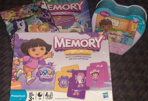 Puzzles and match me memory games for Sale in San Jose, CA