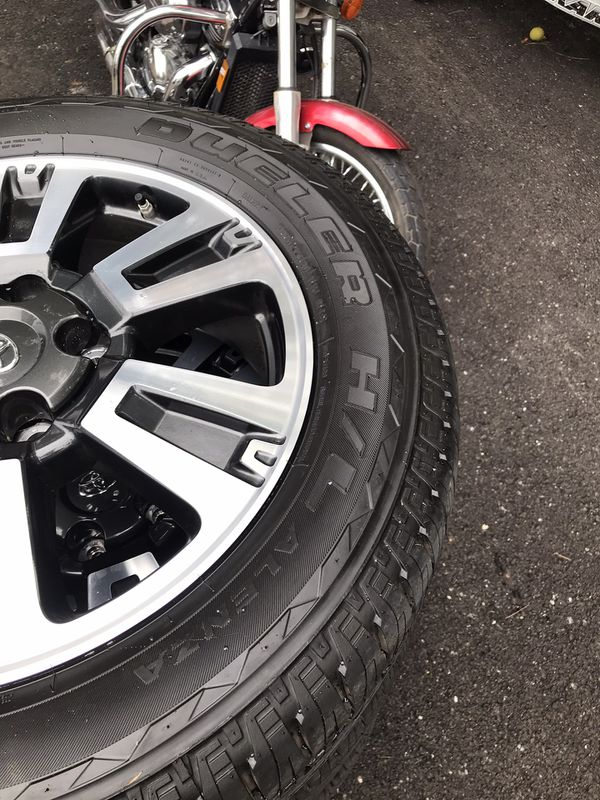 **BRAND NEW** Tundra Wheels and Tires 275/55R20