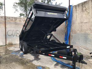 New 7x14 dump trailer for Sale in Pembroke Pines, FL