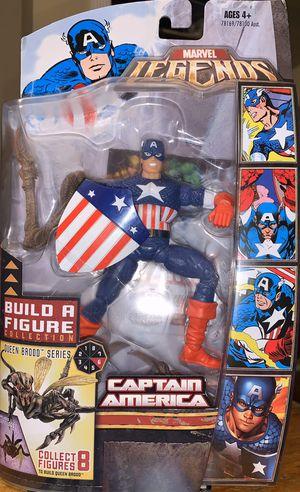 2007 Hasbro Marvel Legends Captain America Golden Age Brood Queen BAF Series Hasbro for Sale in San Bernardino, CA