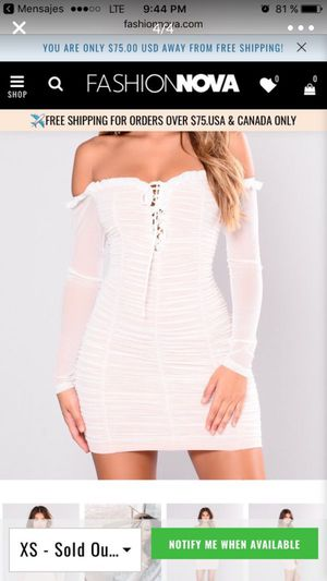 fashion nova vestido for Sale in San Diego, CA