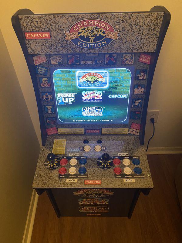 Street fighter arcade game
