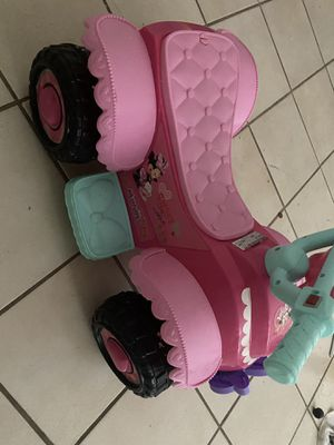 Minnie Mouse Electric Quad Bike for kids for Sale in Davie, FL