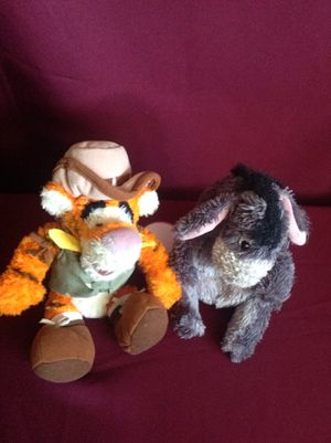 Winnie The Pooh Friends - Tigger and Eeyore - 2pcs for Sale in Whittier, CA