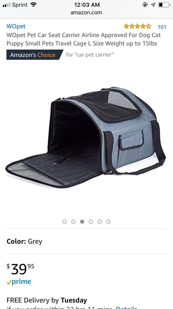 Travel Carrier & Car seat