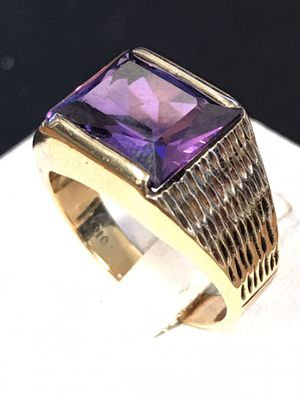Gold Amethyst ring for Sale in Riverview, MI