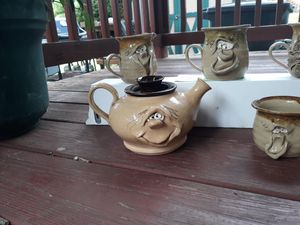 Clay tea set from England for Sale in Reynoldsburg, OH