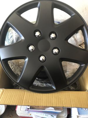"Brand New!!! Matte Black 16"" rim covers for Sale in Fort Worth, TX"