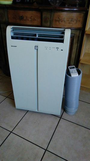 Sharp Air conditioner portable 9,500 BTU for Sale in Los Angeles, CA
