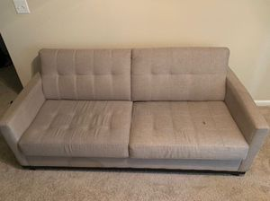 Tan full seater couch for Sale in Raleigh, NC