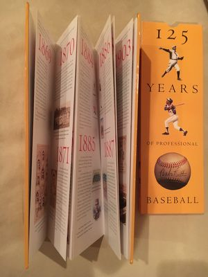 125 Years of Professional Baseball for Sale in Charles Town, WV