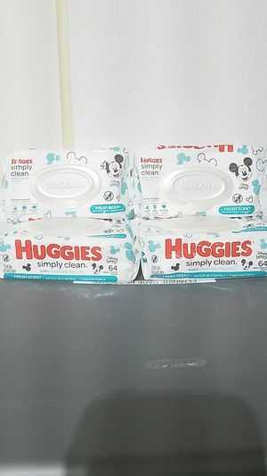 Huggies wipes Fresh scent 4 for Sale in Suffolk, VA