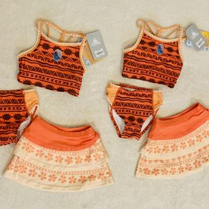 Disney Moana 3 Piece Bathing Suit 2T (2 Available) for Sale in Lake Forest, CA