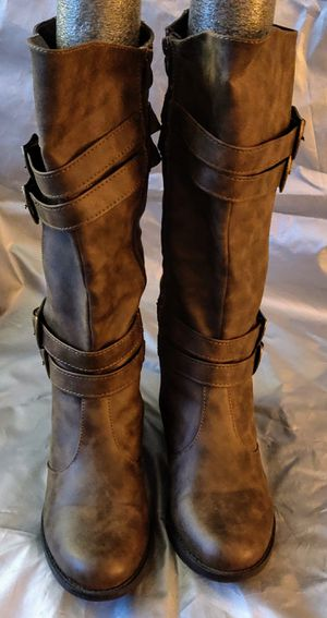 Boots-Banana Blues® Java women's wide calf knee high size 7.5 m for Sale in TN OF TONA, NY