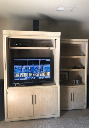 Entertainment centers and book shelves for Sale in Palm Springs, CA