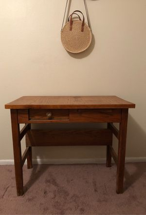 Wooden desk for Sale in Englewood, CO