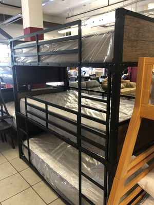 Triple bunk bed. for Sale in Stockton, CA