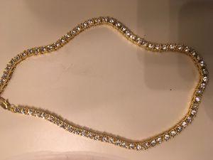 Great Diamond Chain cubic zirconia for Sale in Deer Park, TX