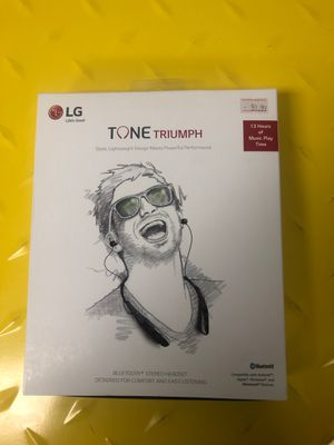Tone triumphs LG headphones for Sale in Quincy, IL