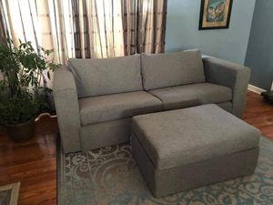 Elephant in a Box Sofa and Ottoman for Sale in Bellview, FL