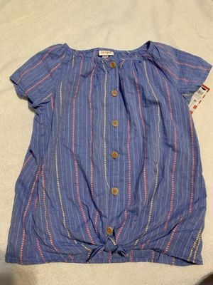 Chambray Striped Woven Top XL(14/16) for Sale in Santa Ana, CA