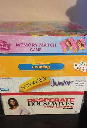 Family board games for Sale in Goodyear, AZ