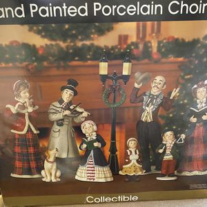 CHRISTMAS: Hand Painted Porcelain Choir Set for Sale in Kent, WA