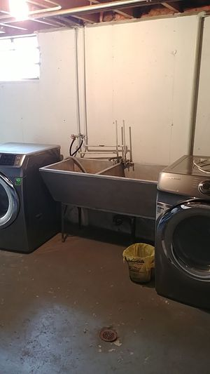 Samsung washer and dryer set for Sale in Beach Park, IL